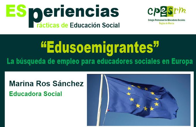 Edusoemigrantes - La búsqueda de empleo para Educadores Sociales en Europa
